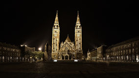 Votive Church in Szeged royalty free stock image