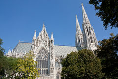 Votive Church in Vienna Stock Photos
