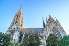 Votive church in Vienna. The Votive church in vienna/ austria stock images