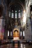 Votive Church (Votivkirche). In Vienna, Austria stock photography
