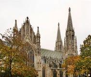 Votive Church (Votivkirche) in Vienna. Austria Royalty Free Stock Images