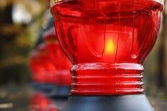 Votive kaarsen Royalty-vrije Stock Afbeelding