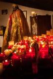 Votive Kerze Saintes Maries de la Mer Lizenzfreie Stockbilder