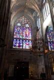 Votive Kirche (Votivkirche) stockfotos