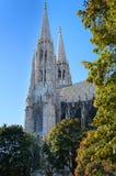 Votive kyrkliga detaljer, Wien Fotografering för Bildbyråer