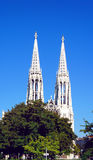 Votive kyrkliga detaljer, Wien Royaltyfria Foton