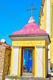 Agropoli Salerno Italy. Votive shrine Agropoli Salerno Italy royalty free stock photography