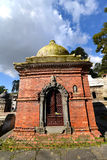 Votive temple and shrine. Pashupatinath, Nepal Royalty Free Stock Photo