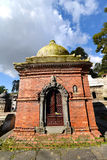 Votive temple and shrine in Pashupatinath, Nepal Royalty Free Stock Image