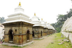 Votive temples and shrines in a row Stock Photography