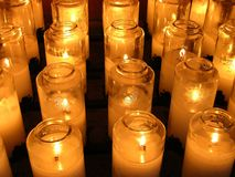 Votives stock afbeelding
