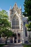 Votivkirche (église de voeux) à Vienne Photo stock