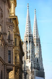 Votivkirche в Вена, Австралии стоковые фото