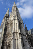 Votivkirche - Neo-Gothic church (Vienna/Austria). Votivkirche in Vienna - Roman Catholic church in neo-gothic style; opened up in 1879 Stock Image
