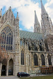 Votivkirche - Neo-gotische Kirche (Wien/Österreich) Lizenzfreies Stockbild