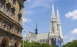 Votive Church in Vienna, Austria Stock Photo