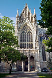 Votivkirche (Vows church) in Vienna Stock Photo