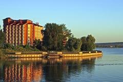 Votkinsk promenade, Udmurt Republic, Russia Stock Image