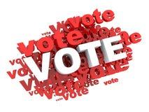 Voto Imagem de Stock
