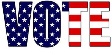 Voto 2008 Immagini Stock Libere da Diritti