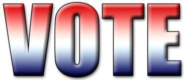 Voto 2008 Immagine Stock Libera da Diritti