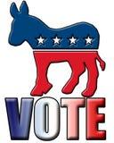 Voto 2008 Fotografia Stock Libera da Diritti