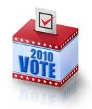 Voto 2010 Foto de archivo libre de regalías