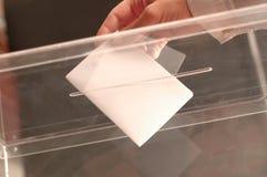 voto Imagen de archivo