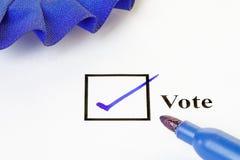 Voto Fotografía de archivo