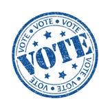 Voto Imagen de archivo libre de regalías