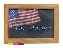 Voto América Imágenes de archivo libres de regalías