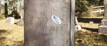 Voto completamente Immagine Stock Libera da Diritti
