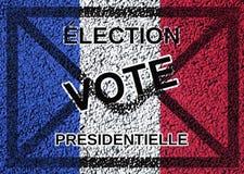 Voto da eleição presidencial Imagens de Stock Royalty Free