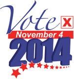 Voto 4 de novembro de 2014 Fotos de Stock