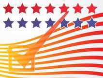 Voto di elezione degli S.U.A. illustrazione di stock