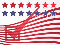Voto di elezione degli S.U.A. royalty illustrazione gratis
