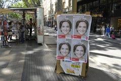 VOTO DO CONSELHO DE BARCELONA Imagem de Stock Royalty Free