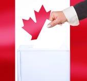 Voto elettorale da voto immagine stock libera da diritti