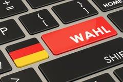 Voto em Alemanha 3d Foto de Stock Royalty Free