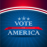 Voto per l'America Immagini Stock Libere da Diritti