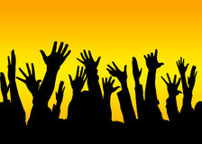 Voto sì Immagini Stock Libere da Diritti