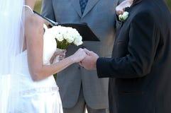 Votos de boda Imagen de archivo libre de regalías