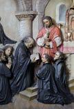Votos dos primeiros membros da sociedade de Jesus imagem de stock royalty free