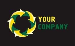 Votre conception de logo de société illustration stock