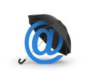 Votre courrier d'Internet dans la sécurité illustration de vecteur