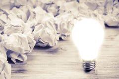 Votre idée lumineuse exceptionnelle photos stock