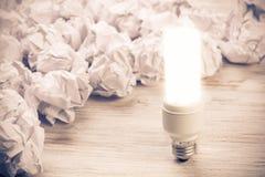 Votre idée lumineuse exceptionnelle photo libre de droits
