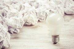 Votre idée lumineuse exceptionnelle Photographie stock libre de droits