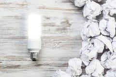 Votre idée lumineuse exceptionnelle images stock