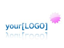 Votre logo Photo stock